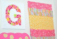 Our Thrifty Ideas | DIY Little Girl's Room Decor | #DIY #Decor #Girls