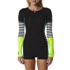 New Womens Roxy Waveline Ls 2mm Spring Suit Wetsuit