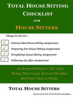 printable form housesitter instructions veiw later printables