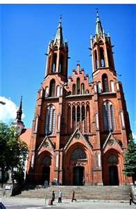 Cathedral in Bialystok, Poland. My grandmother's place of birth. I would like to go there someday. Church Architecture, Religious Architecture, Places To Travel, Places To See, Tatra Mountains, Cathedral Church, Iglesias, Place Of Worship, Krakow
