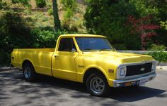 Here's a 1971 #Chevrolet C10 Pickup for #ThrowbackThursday #TBT