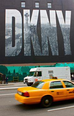 TAXI, DKNY, New York City