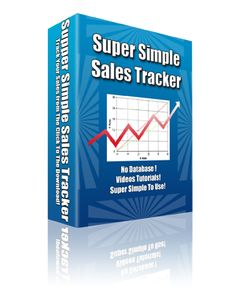 Super Simple #Sales #Tracker #WSO http://www.wsoshop.com/advertising/sales/super-simple-sales-tracker-pre-launch-special  TRACKING YOUR ADVERTISING is a  GOLDEN RULE to your ONLINE SUCCESS.