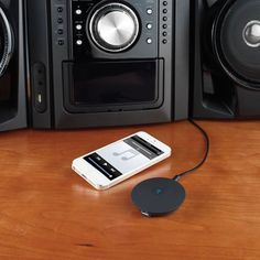 Do not let your stereo speakers stay dumb while you enjoy music on your smartphone by empowering them with the #Home Stereo #Bluetooth Converter.