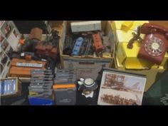 Flea Market ride-a-long, Haul Video for eBay Reselling! - YouTube