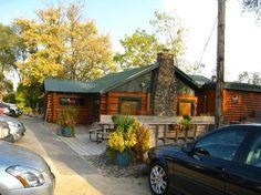 Phil's Tara Hideaway, Stillwater, Minnesota. The rustic style makes the greek-mediterranean menu a surprise.