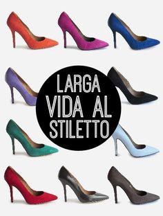 Stiletto - 49,90€ www.calzadospayma.com