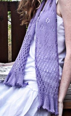 gorgeous lacy scarf