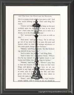 Narnia The Lion Witch and The Wardrobe Lamp Post