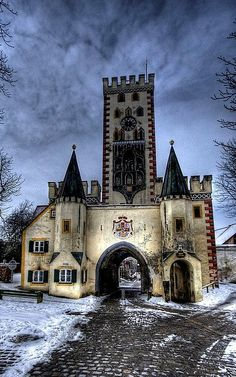 Bayertor Gate ~ Landsberg am Lech, Bavaria, Germany | Flickr - Photo by silverlarynx