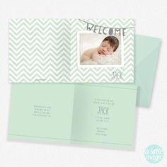 FG-62 Geboortekaartjes met foto Jack - geboortekaartje met een foto van jullie eigen kindje