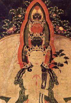 【高清】美国鲁宾艺术博物馆:18世纪<wbr><wbr>西藏格鲁派传承唐卡《十一面千手观音》