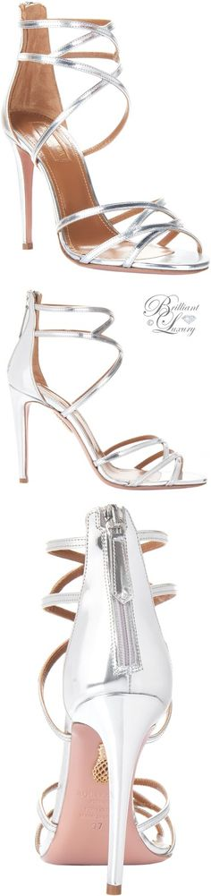 Brilliant Luxury by Emmy DE ♦ Aquazzura 'Dutchesse' Sandals