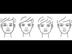Tipos de Rostos - Por Raquel Amorim. - YouTube