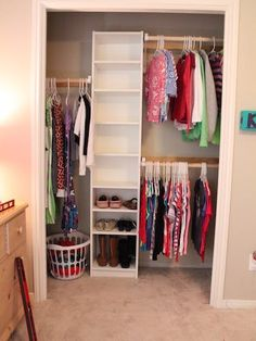 Because fabulous outfits start with a neat closet.