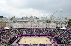 Beach volleyball London Olympics! Horseguards parade
