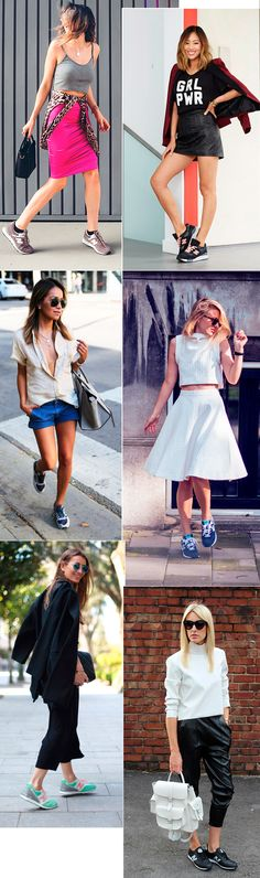 Street style look com tênis New Balance