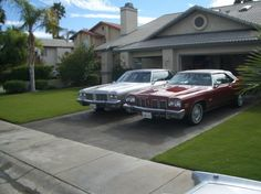 1976 Oldsmobile Ninety-Eight Regency Sedan and 1975 Oldsmobile Delta Eighty-Eight Royale Convertible