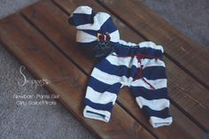 Upcycled Girl Pants Set  RTS  newborn photography by SnippetsProps, $38.00