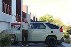 Walter White and his Pontiac Aztek on Breaking Bad. http://hubpages.com/autos/Ten-Of-The-Worst-Cars-Ever-Made