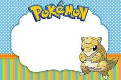 candy bar pokemon - stickers pokemon personajes - imprimibles cumpleaños pokemon
