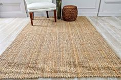 PersianRugs HS Jute Natural Dara Handspun Area Rug Hand Woven -- Much more info can be discovered at the image link. (This is an affiliate link). 8x10 Area Rugs, Large Area Rugs, Small Rugs, Jute Carpet, Rugs On Carpet, Carpets, Jute Rug, Natural Rug, Modern Rugs