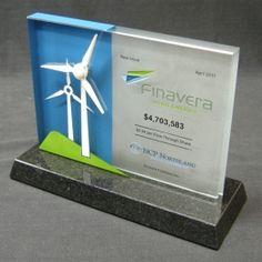 Finavera Acrylic Award