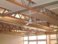 perhaps some beam work accents like this if we don't go with expossed trusses