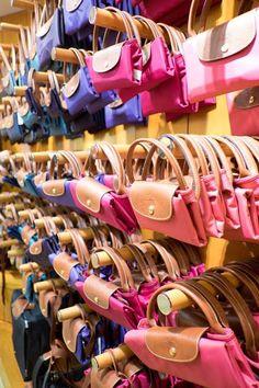 The handbag every woman in Paris has - Longchamp, Paris!