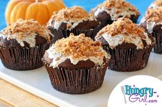 Gooey Butterfinger Cupcakes (hungry-girl.com)