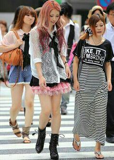 Asian fashion girls
