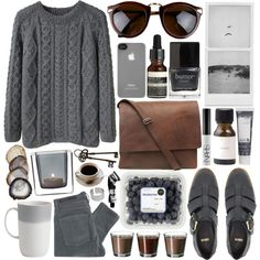 knitted, created by jesicacecillia on Polyvore