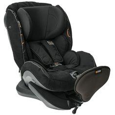 BeSafe Izi Plus Rear Facing Carseat Black Alcantara |Babys-Mart