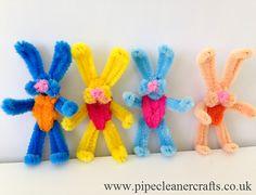 100+ Pipe Cleaner Crafts (How-to) for Kids!