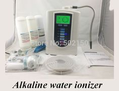 Household Titanium and Platium 3 Plates Alkaline Water Ionizer WTH-803