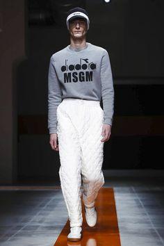 MSGM Menswear Fall Winter 2017 Milan