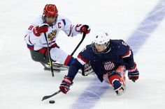 Major worldwide news outlets have been covering the ice sledge hockey competition at Sochi 2014.