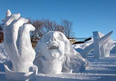 Quebec winter festival, every year the end of January to the middle of Feb