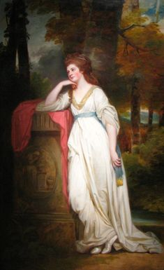 Lady Mary Beauchamp-Procter by George Romney