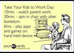 Take Your Kids to Work Day: