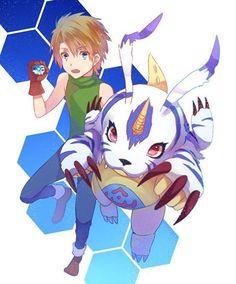 Yamato and Gabumon
