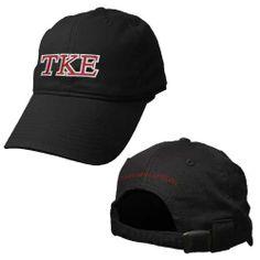 Teke Black Adjustable Hat