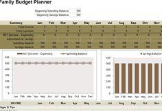 17 best budget templates images on pinterest budget templates