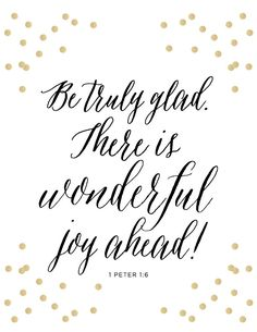1 Peter 1:6 Print Scripture Bible Verse Be by loveandgraceco
