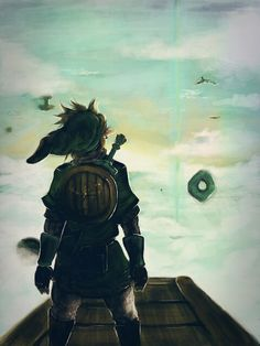 Link - Legend of Zelda #nintendo #art #design