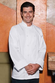 Mayenne Essential Chef Coat [FB22WHT]