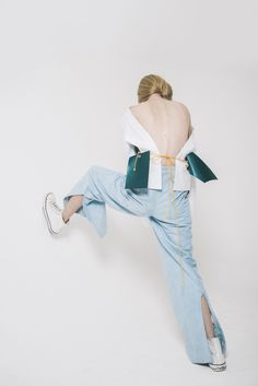 """RAMS"" | Mariya Pantsyrnaya at Model Genesis in Rachel Leung Photographed by Leungmo for Sicky Magazine"