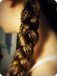 Gorgeous braid with small and large strands