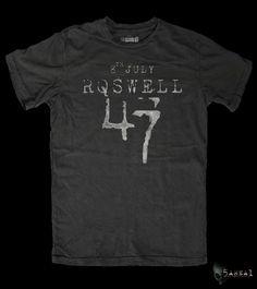 best website 06f91 f056c Rowell 47 Alien t-shirt Alien shirt Alien T Shirt by 5AREA1 Area 51,