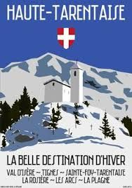 Image result for ski posters le grand massif